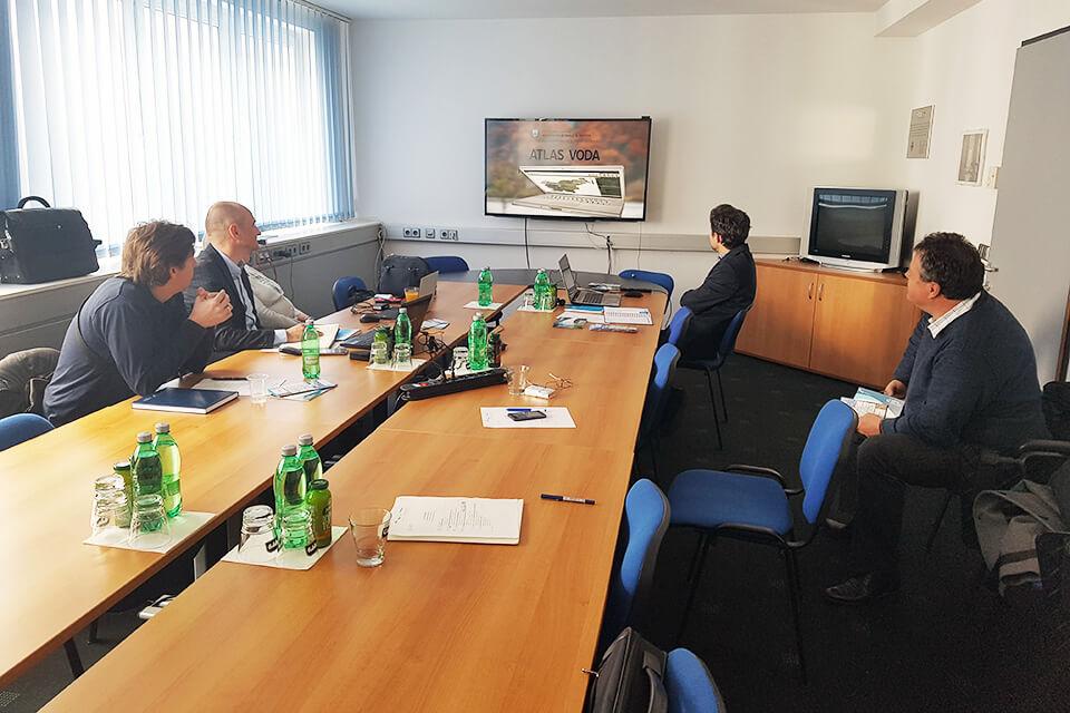 Frisco - Film Živeti s poplavami si je ogledala delovna skupina ekspertov ISRBC