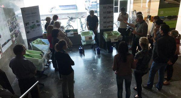 Voden ogled razstave FRISCO1 maket na MOP